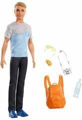 Ken Vamos De Viagem Mattel FWV15