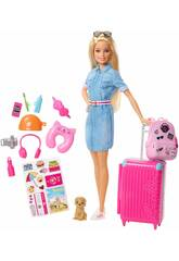 Barbie On va en voyage Mattel FWV25