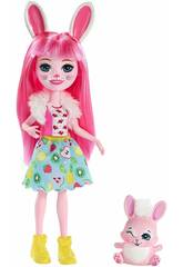 Enchantimals Bree Bunny y Twist Mattel FXM73