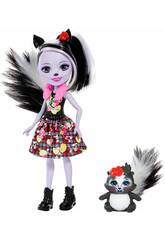 Enchantimals Sage Skunk et Caper Mattel FXM72