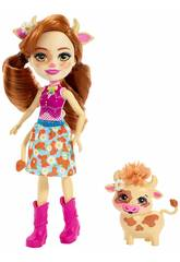 Enchantimals Cailey Cow und Curdle Mattel FXM77