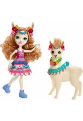 Enchantimals Lluella Llama y Fleecy Mattel FRH42