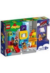 Lego Duplo Movie 2 Les visiteurs de la planète Duplo d'Emmet et Lucy 10895