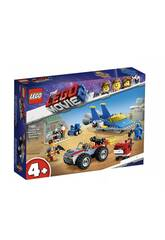 The Lego Movie 2 Emmet e l'officina Aggiustatutto di Benny 70821