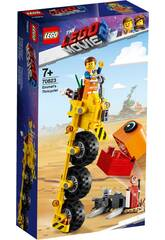 Lego Movie 2 Triciclo de Emmet 70823