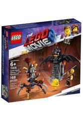 Lego Movie Batman et Barbe d'Acier Préparés pour Lutter 70836