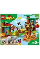 Lego Duplo île tropicale 10906