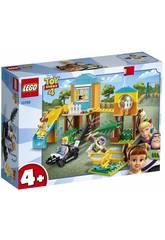 Lego Juniors Toy Story 4 Aventure dans le Parc de Jeux de Buzz et Bo Peep 10768