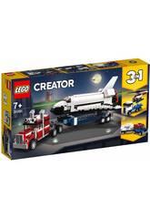Lego Creator 3 en 1 Transporteur de Navette 31091