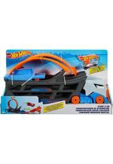 Hot Wheels Camion Trasportatore Stunt&Go Mattel GCK38