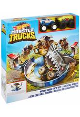 Hot Wheels Monster Truck Lucha Contra El Tiburón Mattel FYK14