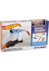 Hot Wheels Trackbuilder Súper Rampa de Lanzamiento Mattel DJD66
