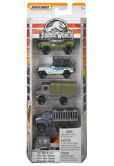 Jurassic World Pack 5 Veicoli Direttamente dal Film Mattel FMX40