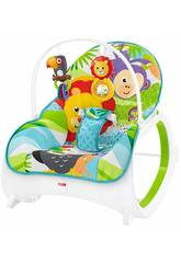 Fisher Price Hamac Grandissez avec Moi Safari Mattel FML56