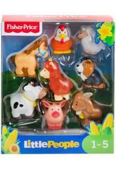Fisher Price Little People Pack Tierfiguren Bauernhof Mattel GFL21