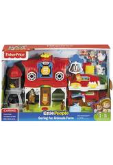 Fisher Price Little People Granja Cuida a Los Animalitos Mattel FKD00