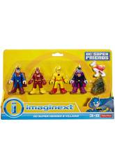 Imaginext Figure DC Comics Supereroi e Cattivi Mattel CMX23