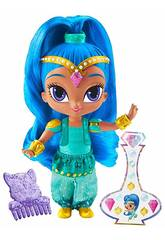 Shimmer and Shine Puppe Shine 15 cm. Mattel DLH57