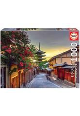 Puzzle 1.000 Pagode Yasaka Kyoto Japon Educa 17969