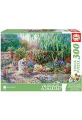 Puzzle 300 Ihr Garten Educa 17981