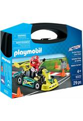 Playmobil Maleta Go Kart 9322