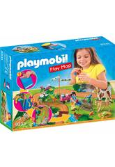 Playmobil Country Play Map Passeggiata a cavallo 9331