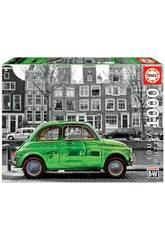 Puzzle 1.000 Voiture à Amsterdam Educa 18000