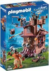 Playmobil Fortaleza Móvil con Enanos y Trol 9340