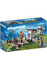 Playmobil Carruagem de Cavalos com Besta dos Anões 9341