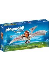 Playmobil Nain avec Machine Volante 9342