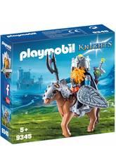 Playmobil Cavaleiro Anão com Pónei 9345