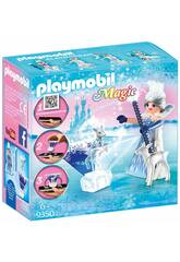 Playmobil Magic Playmogram Principessa Dei Cristalli Di Ghiaccio 3D 9350