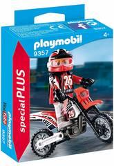 Playmobil Piloto de Motocross 9357