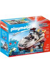 Playmobil City Action Auto anfibia dei malviventi 9364