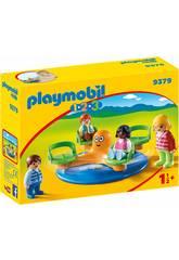 Playmobil 1,2,3 Carrusel Infantil 9379