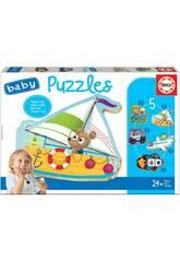 Baby Puzzle Voitures 2 Educa 18059