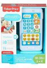 Fisher Price Téléphone Apprendre avec le petit chien Mattel FPR17