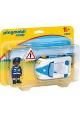 Playmobil 1.2.3 Carro da Polícia 9384
