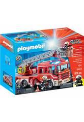 Playmobil Feuerwehr-Leiterfahrzeug 9463