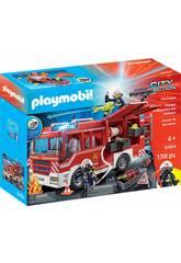 Playmobil Camión de Bomberos con Luz y Sonido 9464