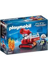 Playmobil Robot de Lutte Contre L'Incendie 9467