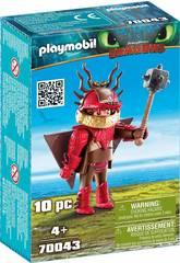 Playmobil Como Treinares o Teu Dragão Escarreta com Fato de Vôo 70043