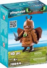 Playmobil Como Treinares O Teu Dragão Perna de Peixe com Fato Voador 70044