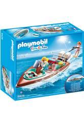 Playmobil Lancha Motora con Motor Submarino 9428