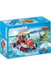 Playmobil Gommone Dei Predatori 9435