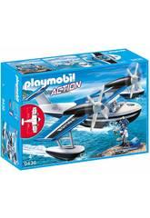Playmobil Idrovolante Della Polizia 9436