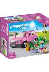 Playmobil City Life Famiglia al parcheggio dell'outlet 9404
