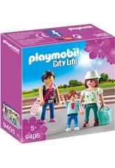Playmobil Mujeres con Niño 9405