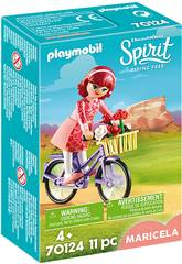 Playmobil Maricela con Bicicleta 70124
