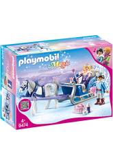 Playmobil Magic Slitta con coppia Reale 9474